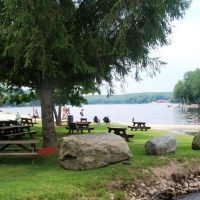 North Beach Picnic area by lake wallenpaupack pa