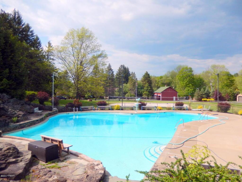 Rockledge Pool by lake wallenpaupack pa